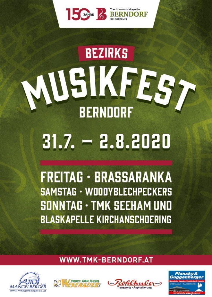 Plakat BZMF Berndorf 2020